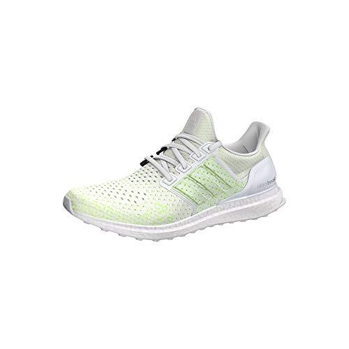 adidas Ultraboost Clima, Scarpe Running Uomo, Bianco Ftwwht/Solred, 45 1/3 EU