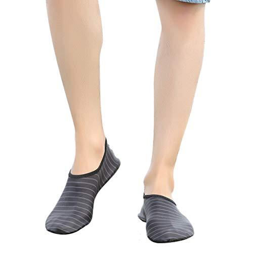 Felicove Damen Strandschuhe Wassersport Schnelltrocknend Strandschuhe Socken Schuhe Sommer Strandschuhe for Barfuß Outdoor Schwimmen Surf Strand