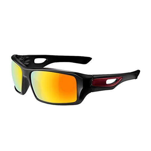 Unisex Fahrrad Motorradbrille Winddicht Staubdicht Beschlagfrei Sanddicht UV-Schutz Radfahren Sonnenbrillen Outdoor Sportbrillen zum Laufen Angeln Reiten Fahren