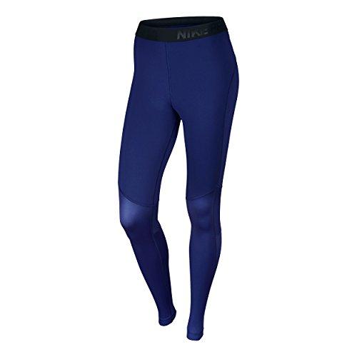 Nike Pro Hyperwarm Tights polsino Blu - blu scuro