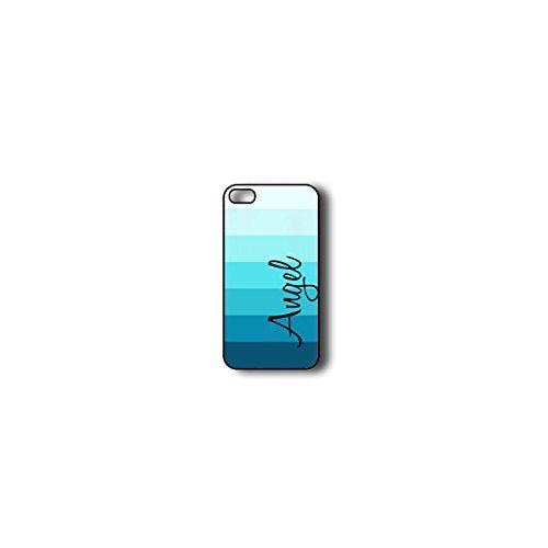Krezy Case Monogram iPhone 6 PLUS Case, Colorful stripes Pattern Monogram iPhone 6 PLUS Case, Monogram iPhone 6 PLUS Case, iPhone 6 PLUS Case Cover
