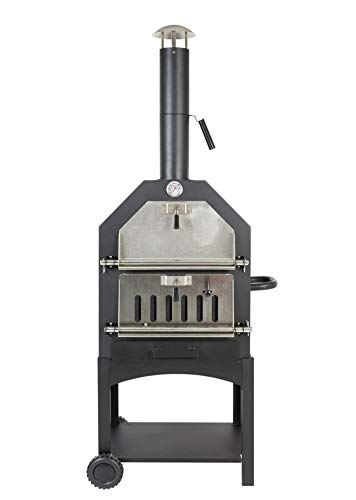 Lorenzo Steel Pizza Oven/ Smoker (Pizza Oven Only)