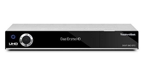 TechniSat Digit ISIO STC - UHD/4K Satelliten-Receiver mit dreifachem TwinTuner DVB(CI+, Smart-TV, WLAN, PVR-Funktion via USB oder im Netzwerk, UPnP-Livestreaming u.v.m.) silber