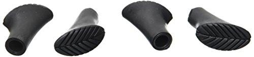 Aus Gummi (Black Crevice Ersatzteller Walking Pads, schwarz, One Size)
