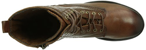 Tamaris - 25268, Stivali Militari da Donna Marrone (Braun (Chestnut 328))
