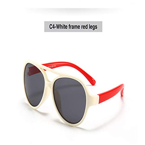 Sport-Sonnenbrillen, Vintage Sonnenbrillen, NEW Luxury Brands TAC Kids Sunglasses Polarized Boys Girls Kids Sports Glasses 100% UV Protection Oculos De Sol Gafas Beige