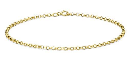 Carissima-9-Karat-375er-Gelbgold-Rundes-Erbsarmband-18cm-1241451