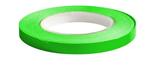Simoni Racing FS/2GF Striscia Adesiva fluorescente per cerchi auto e moto, Verde Fluo
