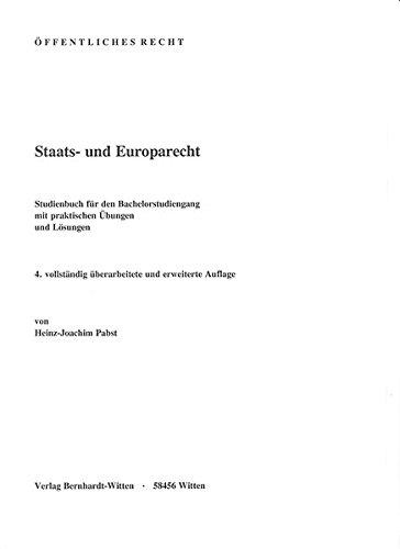 Staats- und Europarecht: (keine Ausliferung über den Buchahndel)