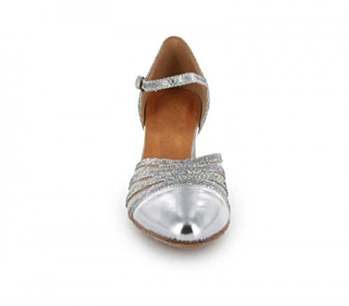 TDA - Ballroom donna 6cm Silver