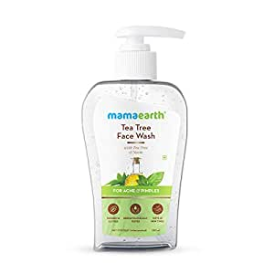Mamaearth Tea Tree Face Wash with Neem for Acne & Pimples – 250ml