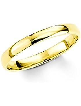 Amor Damen-Ring Basic 333 Gelbgold glänzend