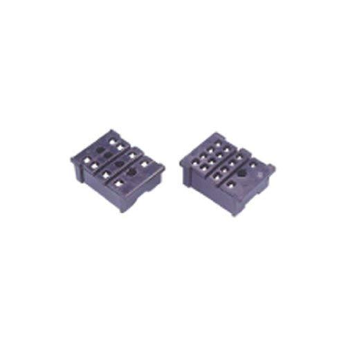 5A Miniatur Relay Socket 8Pin vollständig geschlossener für allgemeine Zwecke Pin Relay Socket