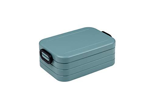Mepal Nordic Green Lunchbox take a Break midi, Plastik, 18.5 x 12 x 6.5 cm