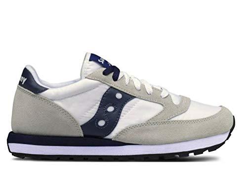 Saucony hombre zapatillas de deporte baja JAZZ ORIGINAL S2044-331 42.5 Grigio / bianco