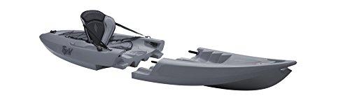 Unbekannt Point 65Tequila Solo GTX Sit on Top Kayak Canoa Módulo construcción Crédito Angel Kayak, Gris