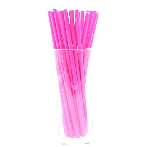 CTOBB 25 Stück trinkende Papierstrohe Flamingo Straw Halloween Weihnachten Baby-Dekoration-Geschenk-Party-Ereignis Supplies Dusche, Y50