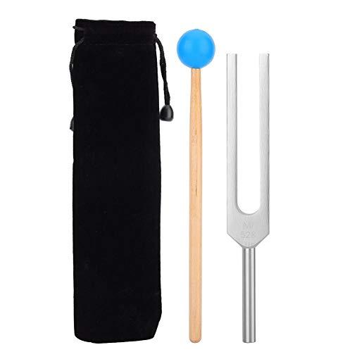Medizinische Stimmgabel aus Aluminium mit Holzhammer-Hammerball Medizinische Instrumente, die Erschütterungs-Klangtherapie-Werkzeug-Satz abstimmen