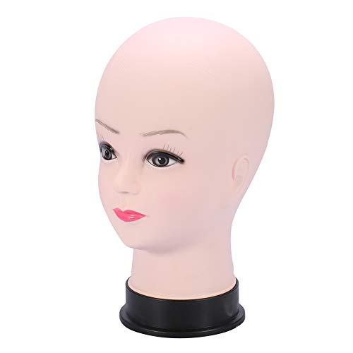 Maniquí Cabeza Mujer Peluca Nuevo estilo Traning Sombrero Sombrero Sombrero Pantalla Maniquí Modelo