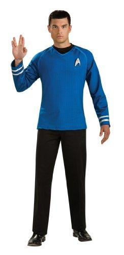 Rubies USA Star Trek Spock Heritage Kostüm für Herren, - Star Trek Red Shirt Für Erwachsene Kostüm