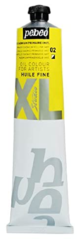 Pébéo 200002 Beaux-Arts Huile Fine Studio XL 1 Tube Jaune Cadmium Primaire Imitation 200 ml