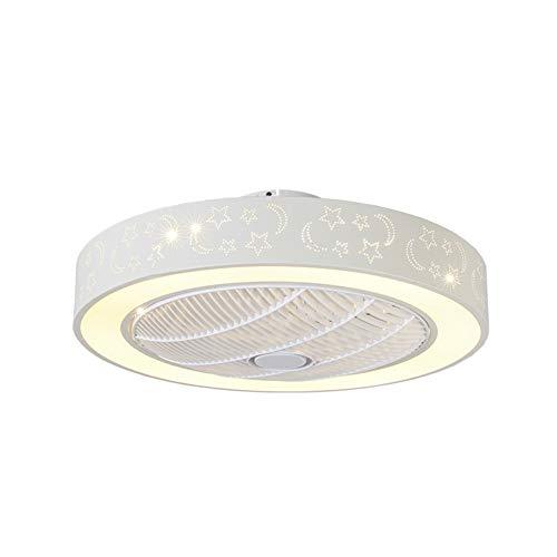 or Mit Beleuchtung Und Fernbedienung Leise LED Wohnzimmer Lüfter Kinderzimmer Schlafzimmer Büro ()