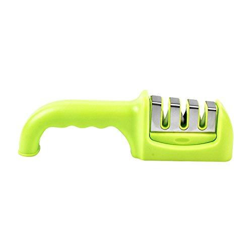meyfancy grün Küche Messerschärfer, gezackte Messer schärfen Profi Werkzeug -