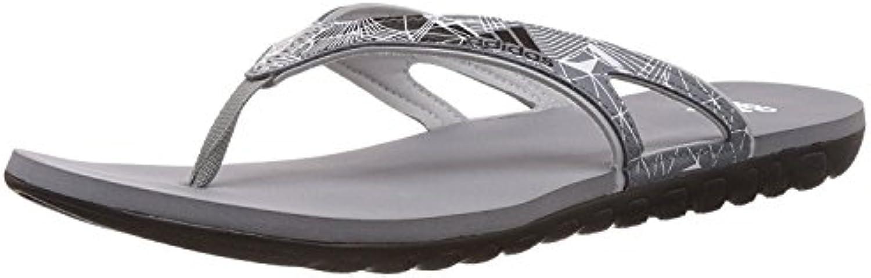 adidas Hombre 5m CALO 5 m Flip flops-blue/blanco, talla 10 - Negro/Blanco, 38 EU