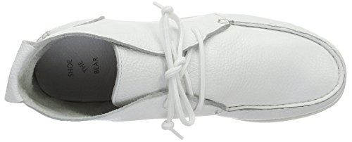 Shoe the Bear Misu L, Baskets Basses Homme Blanc (120 White)