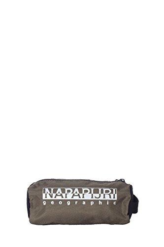 Napapijri Happy Pencil Case Multicolour Olive-Black N0YGXFM32