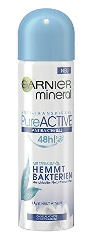 Garnier Mineral Pure Active Antibakteriell, 6er Pack (6 x 150 ml) (Antibakterielle Deodorant)