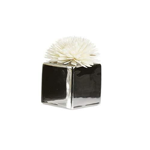 Goa Clem - Céramique Silver Pour Fleur De Goatier - Taille : 6 X 6 Cm