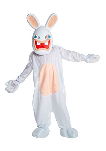 LF Centennial Pte. Deluxe Rabbids Kids Fancy Dress Costume - Raving Rabbid Kostüm