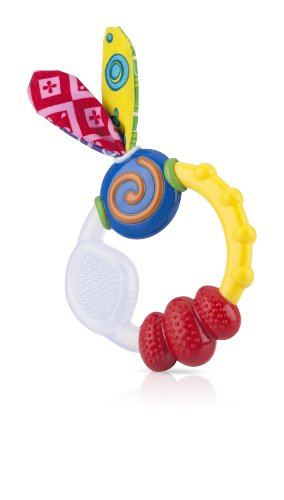 Nuby Wacky Teething Ring Teether 31wUXUCgELL