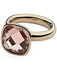 Qudo Rose Gold Plated Interchangeable Slim Ring 627055