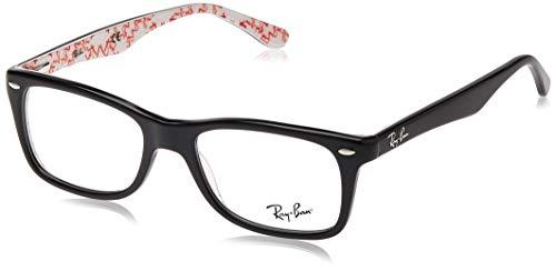 Ray Ban Brillengestell RX5228 5014 50-17 Stil, schwarz/texture
