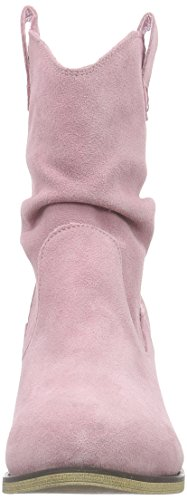 Andrea Conti 1124167, Bottes Cowboy courtes, doublure froide femme Rose - Pink (rosa 022)
