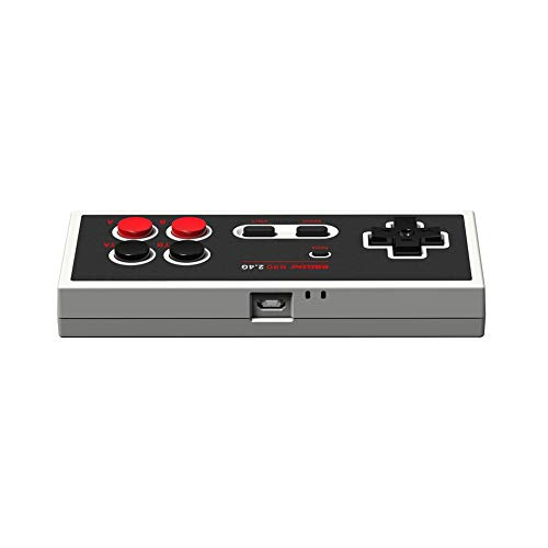 Newgreenca 2 4G Wireless Gamepad Retro Controller für NES Classic  Edition-Controller
