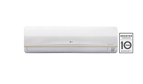 LG 1.5 Ton 3 Star Inverter Split AC (Copper, JS-Q18PUXA, White)
