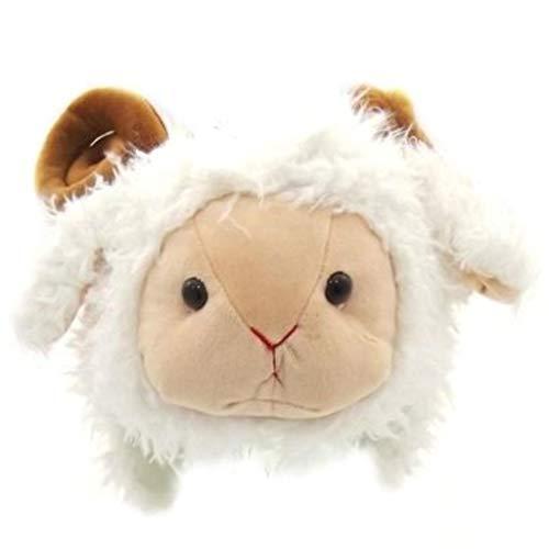 Welsh Boy Kostüm - Flauschiger Kostüm-Hut für Herren, Damen, Jungen und Mädchen, walisische Designs Gr. Einheitsgröße, Fluffy Ram
