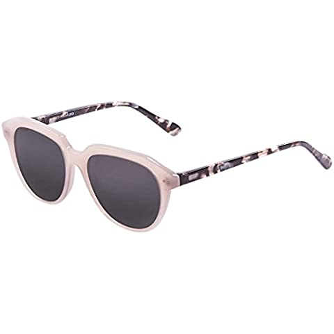 Ocean Mavericks-Occhiali da sole, colore: rosa/trasparente/brown Frosted Demy Smoke Lens
