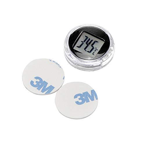 Tioodre Temperaturanzeige für Thermometer mit Flüssigkristallanzeige ohne Monitor Hygrometer für...