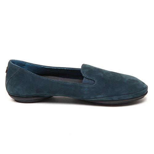 Camper D9138 (Without Box) Mocassino Donna Blu Petrolio Loafer Shoe Woman Blu petrolio