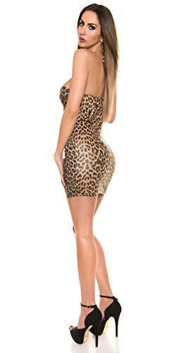 LivCo robe bandeau avec zip au leolook koucla by in-stylefashion sKU 0000K28389 Marron - Marron