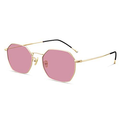 hw Polarisierte Sonnenbrille Stilvolle und klassische Sonnenbrille für Herren und Damen mit UV400-Schutz und ultraleichtem Rahmen Pink