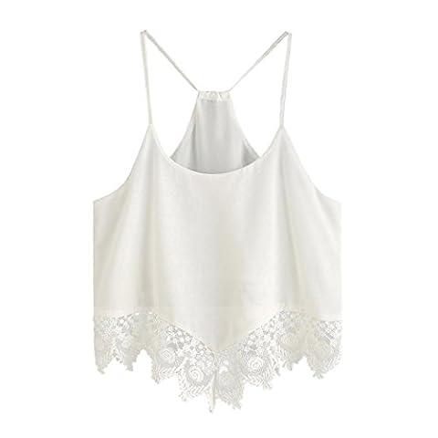 Fuibo - Débardeur - Femme blanc blanc - blanc - XX-Large