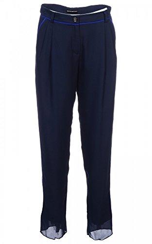 pantaloni da donna Emporio Armani R2P04TR9904 Dunkelblau