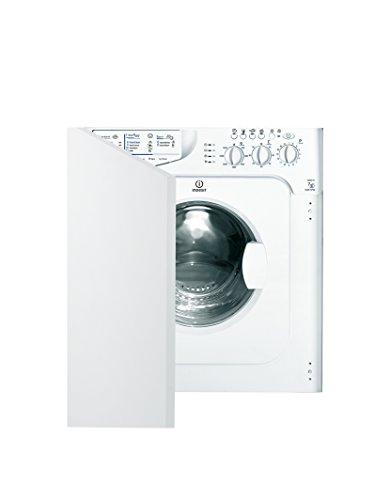 Indesit Ecotime IWME147 1400 Spin, 7kg Load Integrated Washing Machine - White