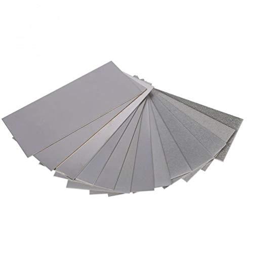 Zonster 1Pc 3000 Grit Diamant-Platte für Schleifstein/Jade/Dichtung Schnitzmesser/Holz Handwerk Diamant-Platten-Schleifwerkzeug