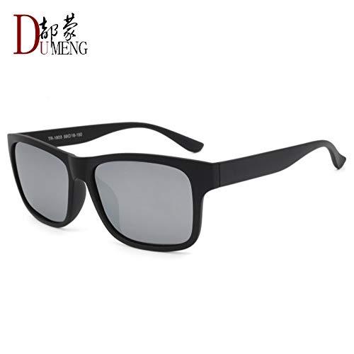 Preisvergleich Produktbild Sonnenbrille Für Männer High-End Fashion Polarized Driving Sunglasses Designer Outdoor Reisen Sport Leichte Und Bequeme Sommer Uv400 Sand Schwarzen Rahmen Quecksilber